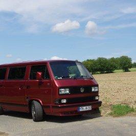 VW Bus Tuning Treffen auf dem Hockenheimring